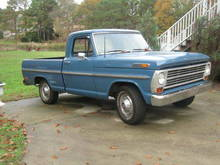 1969 F 100 I'd love to have