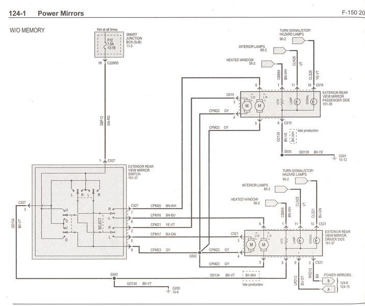 need mirror    defroster wiring diagram