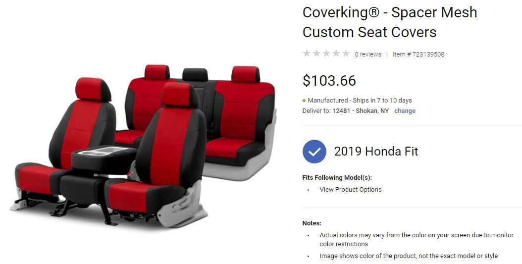 Phenomenal Car Seat Covers And Side Seat Airbags Unofficial Honda Fit Evergreenethics Interior Chair Design Evergreenethicsorg