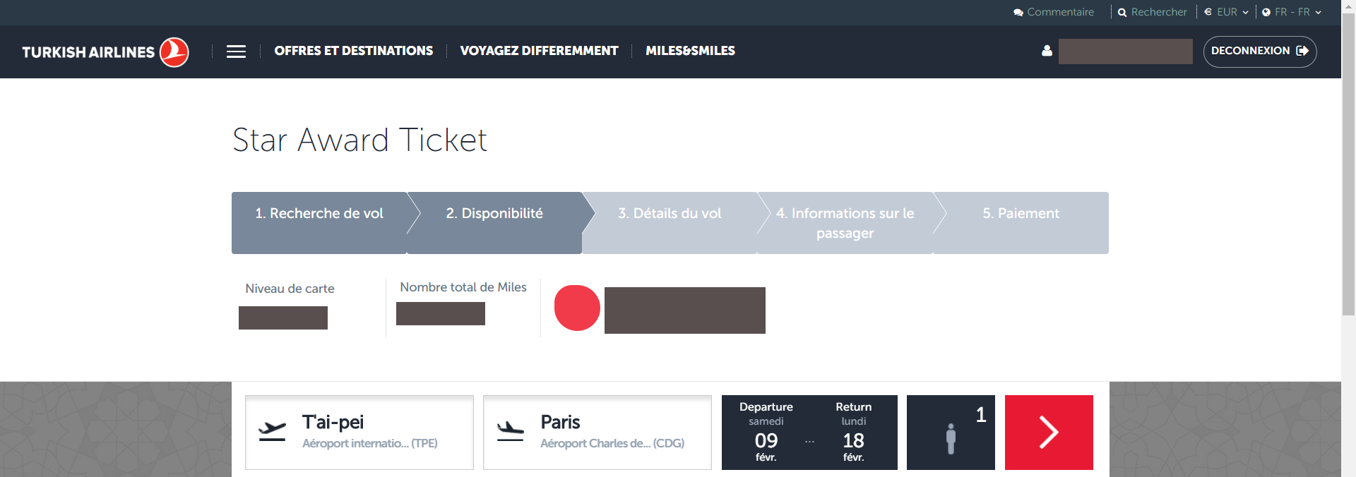 Star Alliance awards available on TK website - FlyerTalk Forums