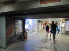Underground metro station