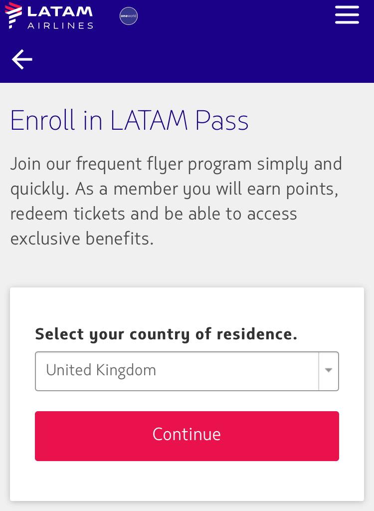 Connectmiles enrollment code