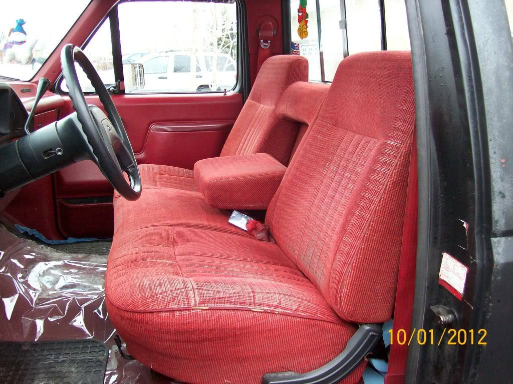 Surprising 1989 Ford F150 Bench Seat Covers Gamerscity Chair Design For Home Gamerscityorg