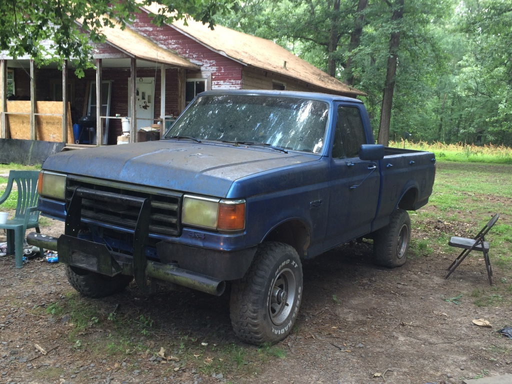 big blue 89 f150 5 0l 4x4 ford truck enthusiasts forums. Black Bedroom Furniture Sets. Home Design Ideas