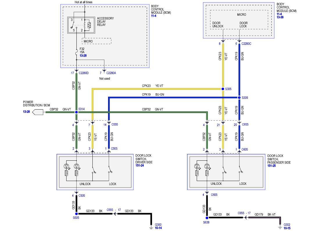Door Lock Wiring Help Needed  Need A Diagram