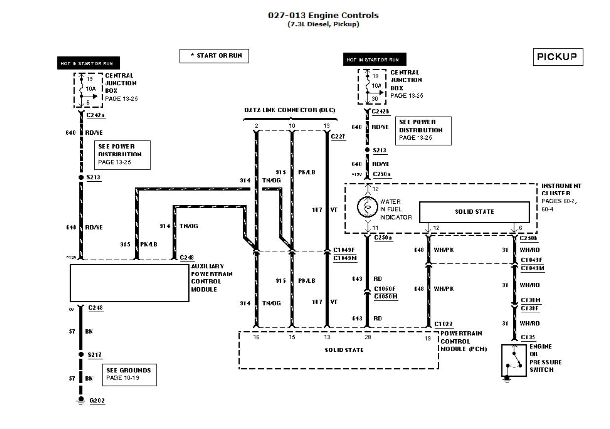 99 F350 Tach Wiring Diagram