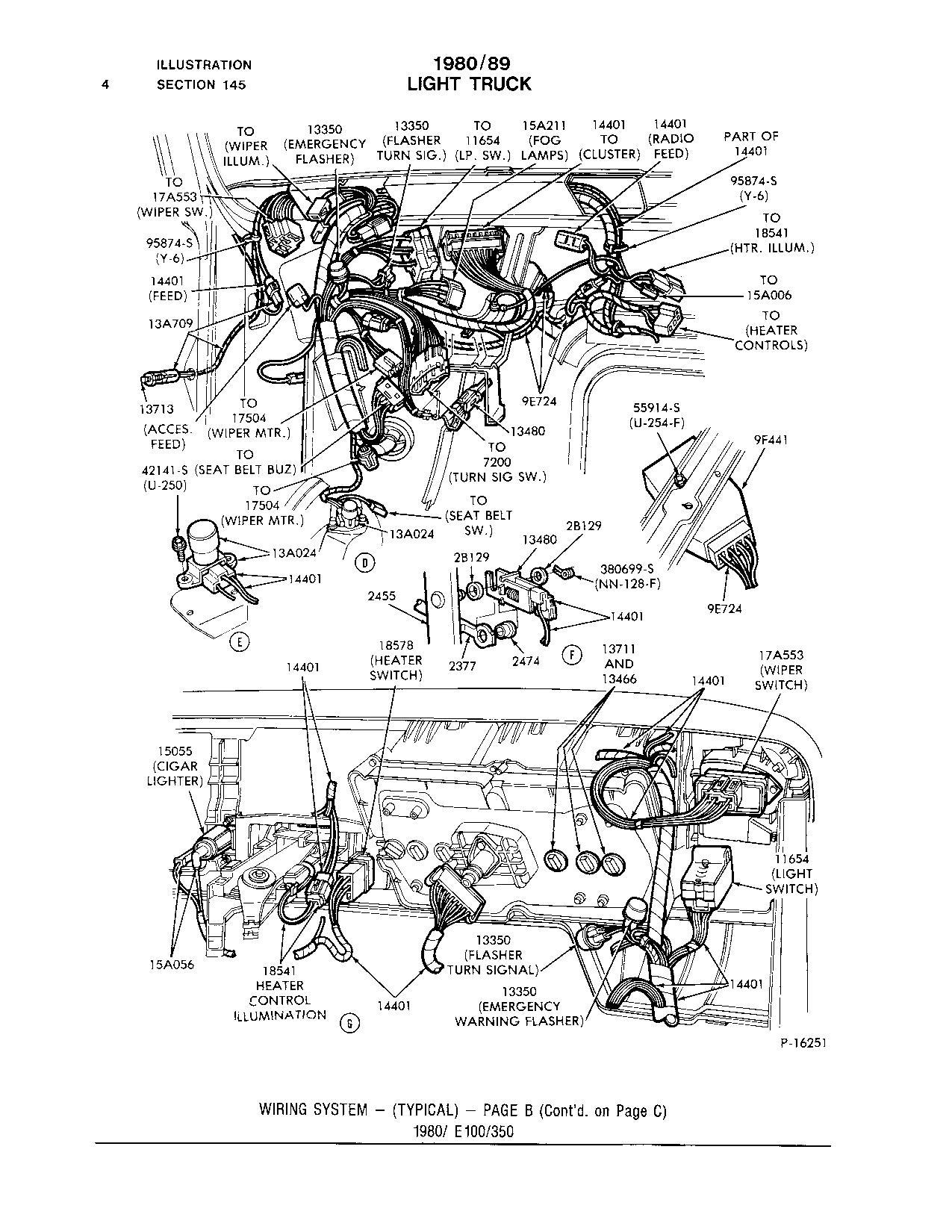 Diagram  1979 Ford F100 Turn Signal Wiring Diagram Full