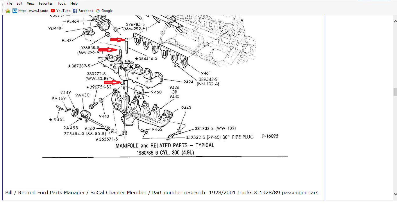 ford exhaust manifold diagram - wiring diagram forum-variant -  forum-variant.emilia-fise.it  emilia-fise.it