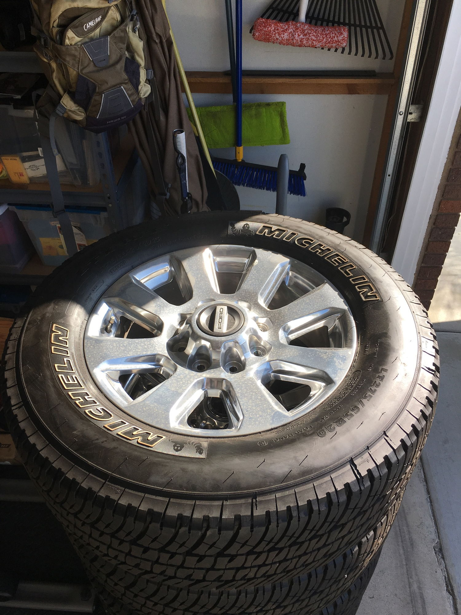 "2017 F250 Platinum 20"" wheels and tires Ford Truck Enthusiasts Forums"