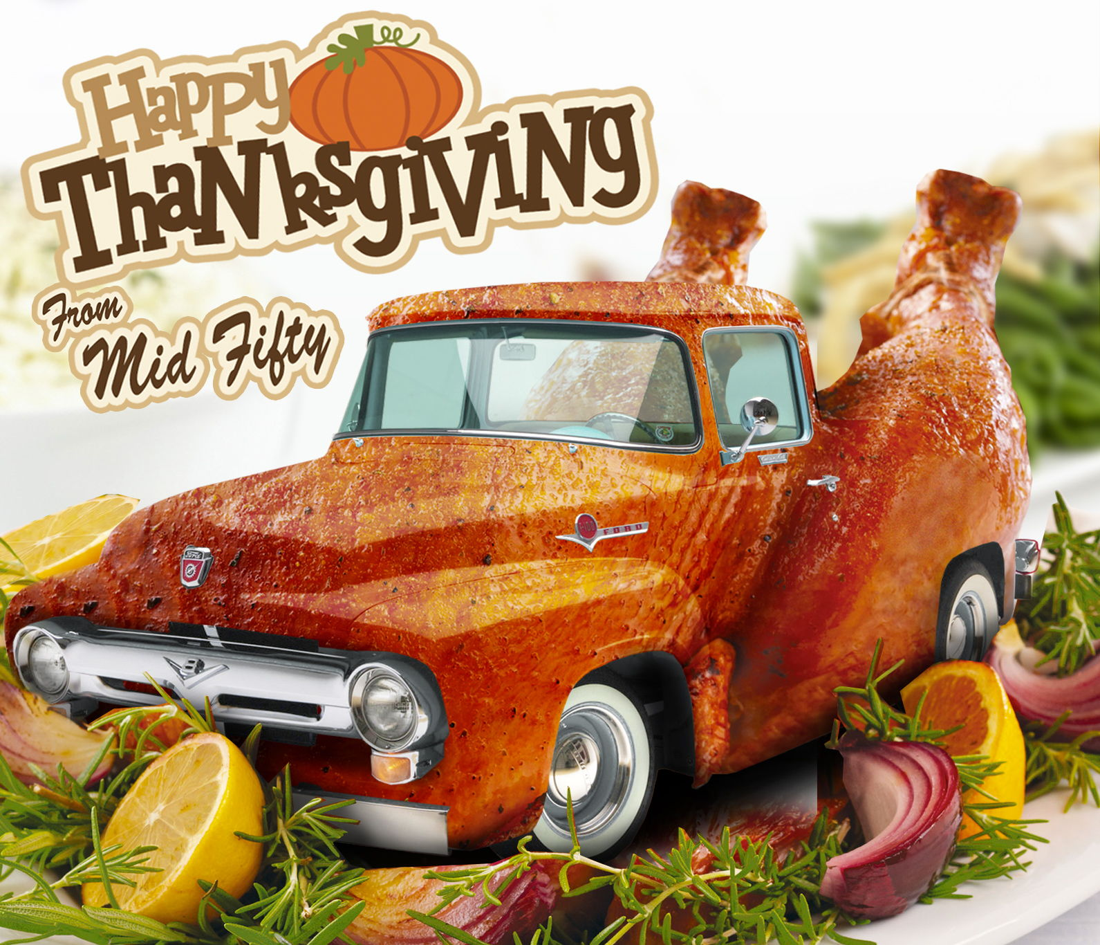 Ford Truck Enthusiasts >> Happy Thanksgiving from Mid Fifty - Ford Truck Enthusiasts Forums