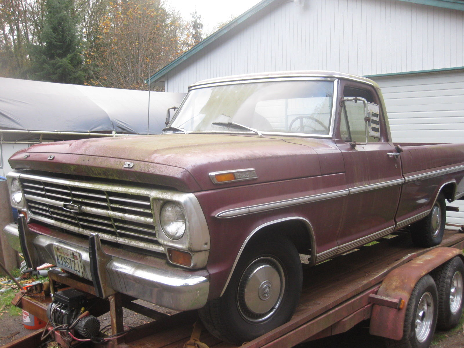 Craigslist 1968 F100 Ford Truck Enthusiasts Forums