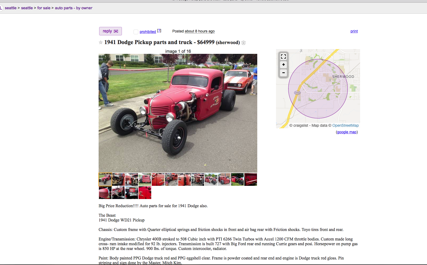 Fun Craigslist Org finds  Post them here  - Ford Truck