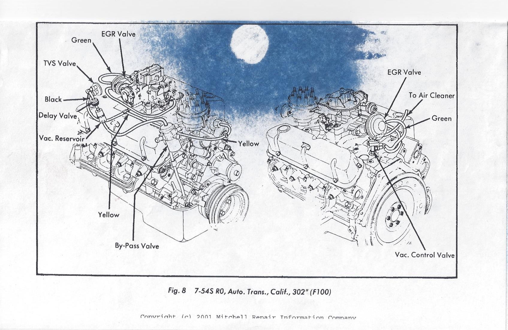 Parts    Diagram        1978       F150   Ranger  302ci  Air Cleaner   Duct