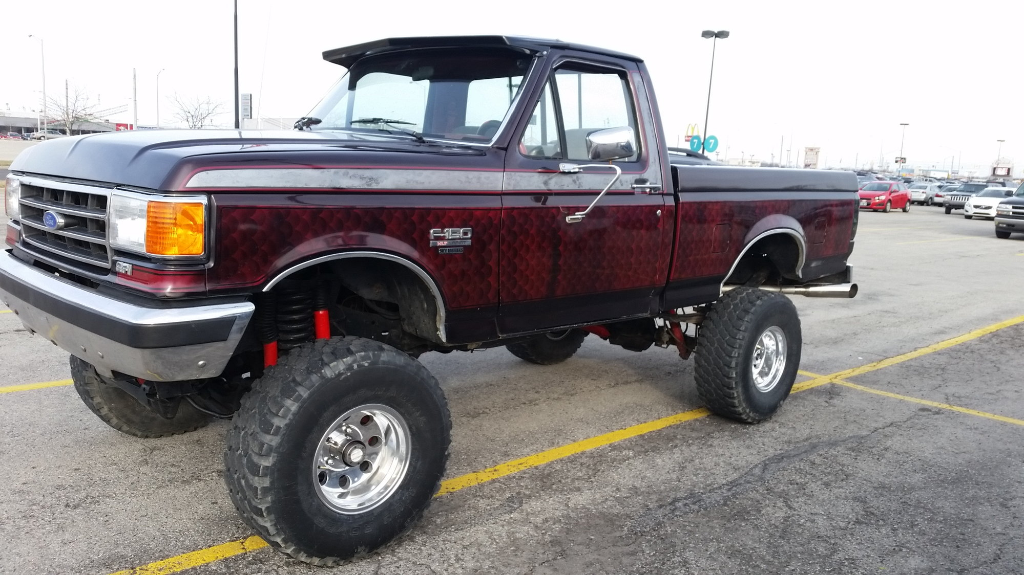 1990 Ford F150 4 9