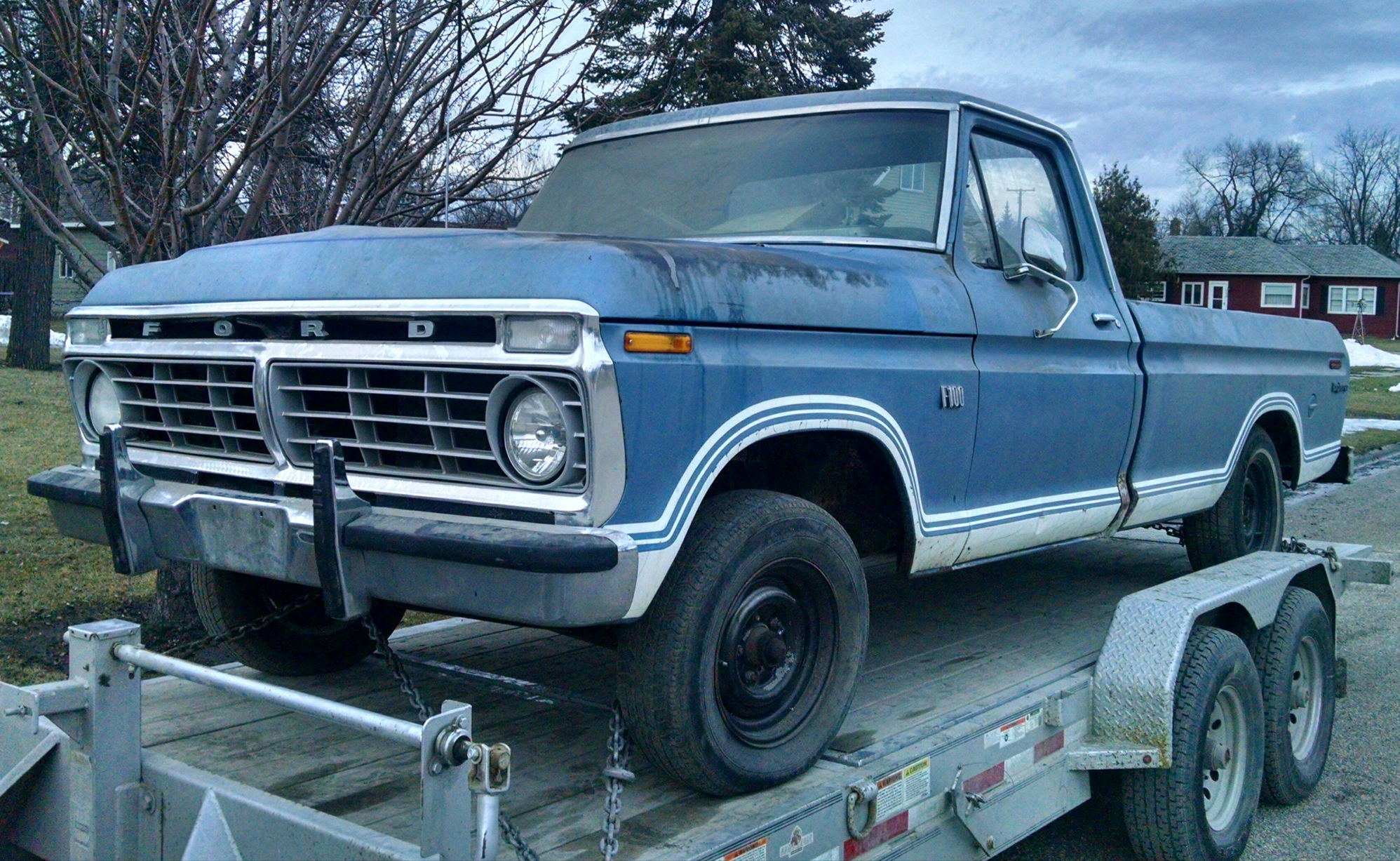 1974 f100 on the ground build ford truck enthusiasts forums. Black Bedroom Furniture Sets. Home Design Ideas