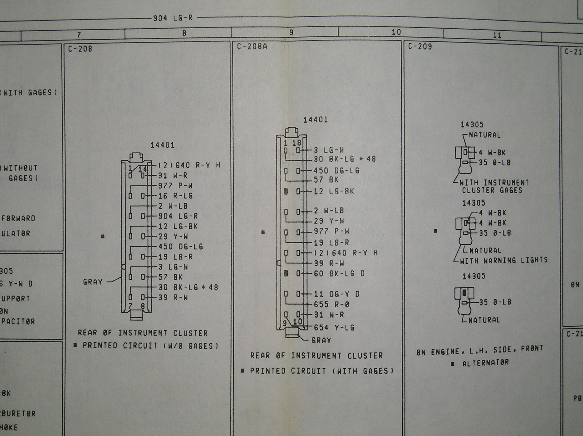 1982 F100 Cluster Connector Wiring Diagram Ford Truck Enthusiasts Forums