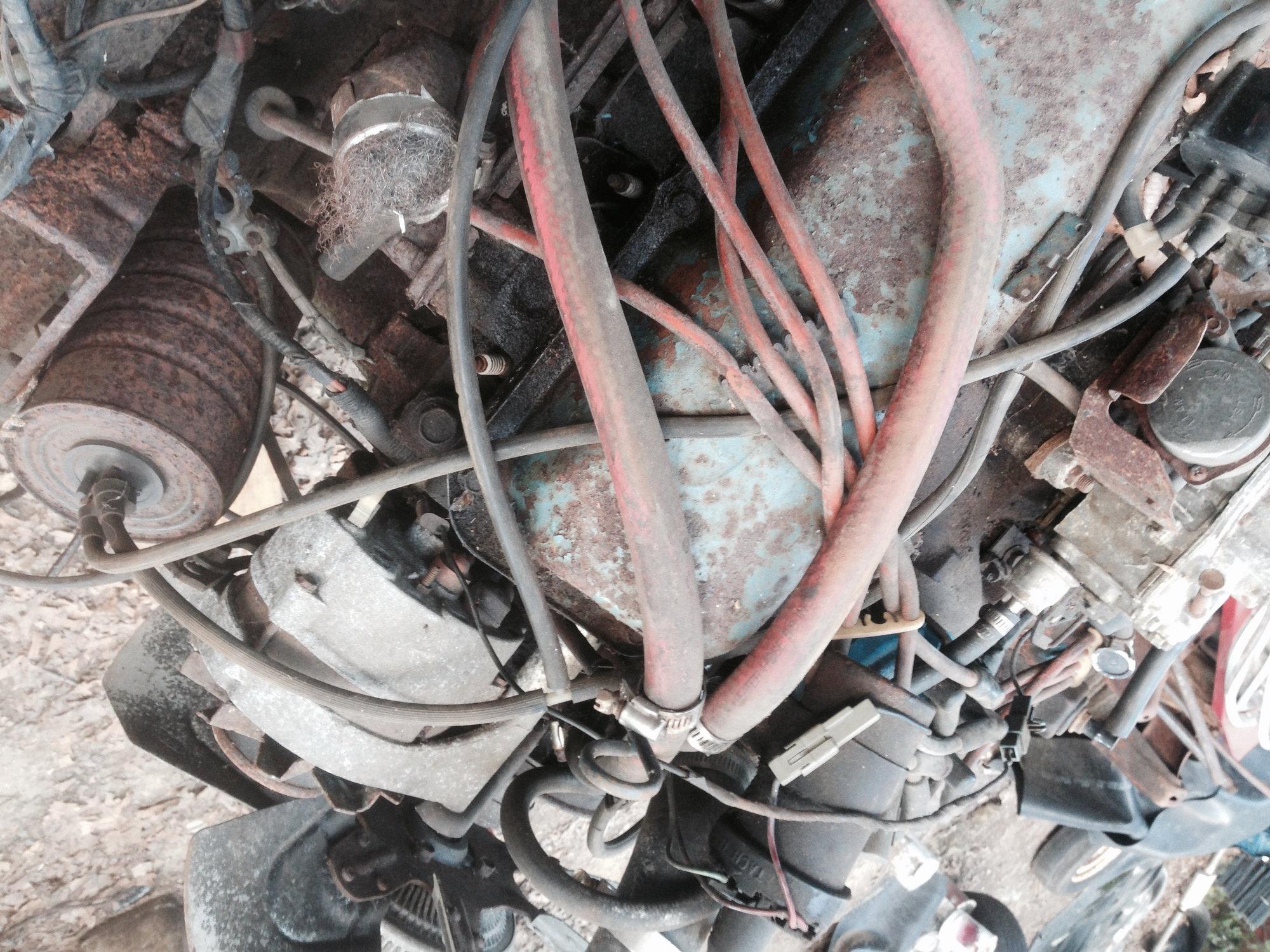 1977 351 Carburetor  Vacuum Line Routing