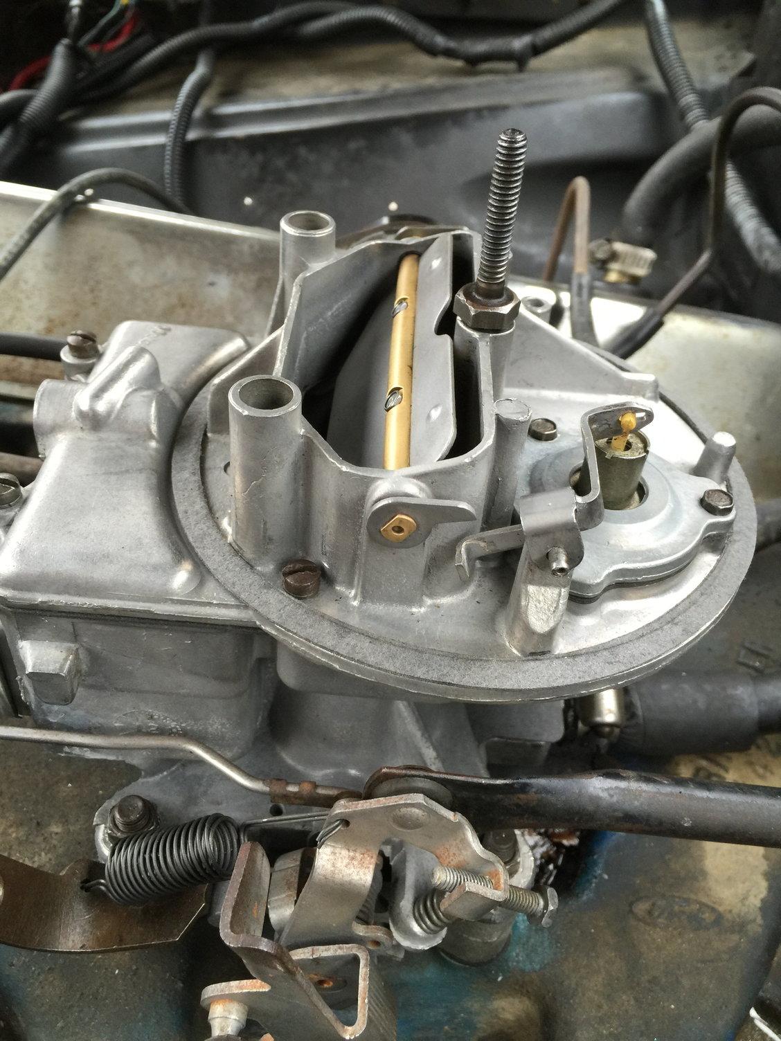 Motorcraft 2-bbl carburetor identification - Ford Truck