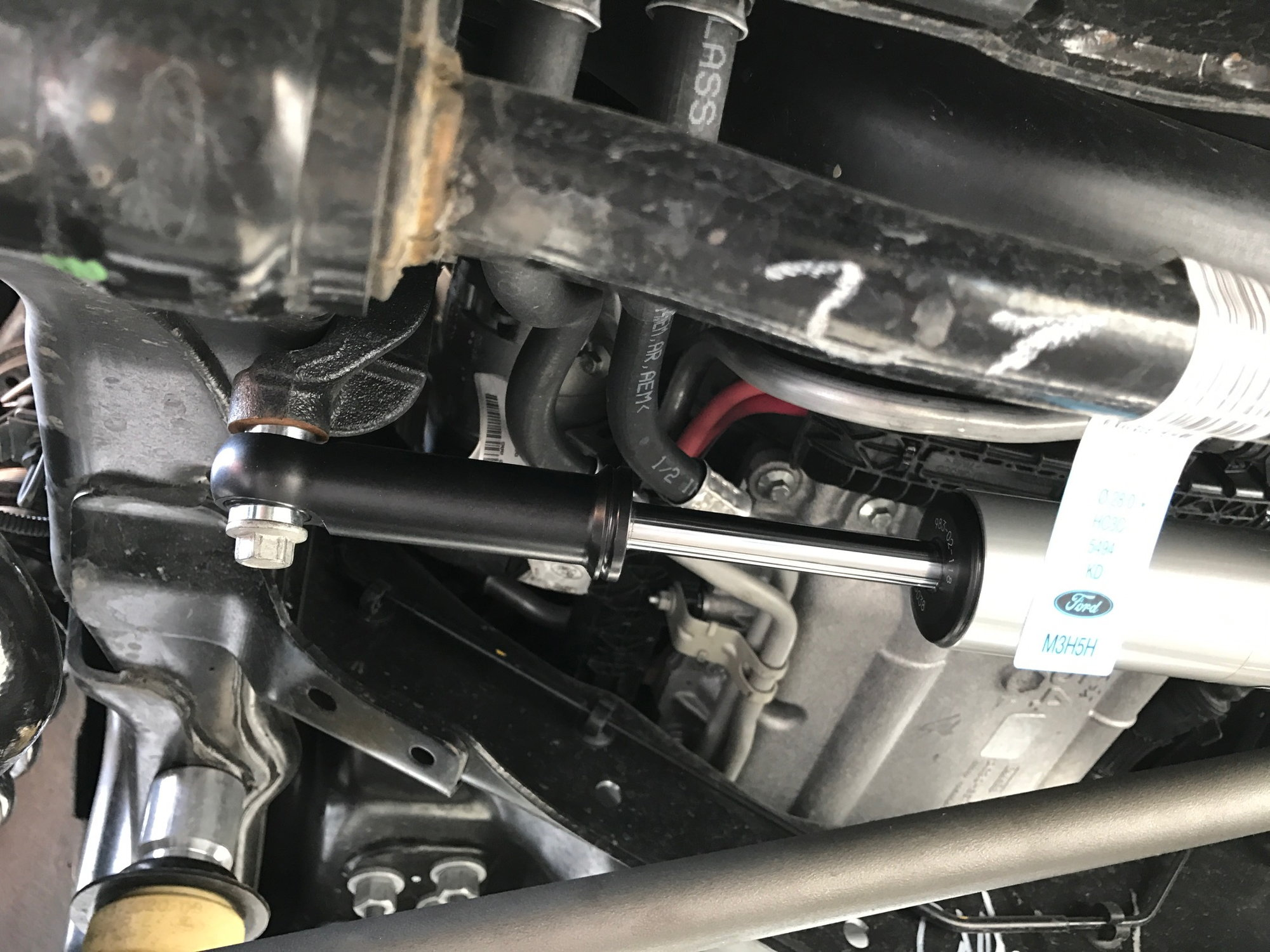 Steering arm stabilizer - Ford Truck Enthusiasts Forums
