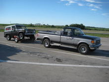 89 F250 Ranch Truck from Iowa Bring in home a Bronco Sport from Colorado.