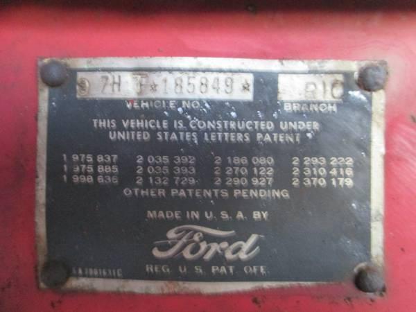 modesto, california craigslist 1948 F4 for sale - Ford ...