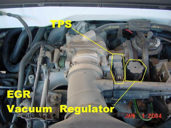 EGR vacuum regulator cap Ford Truck Enthusiasts Forums