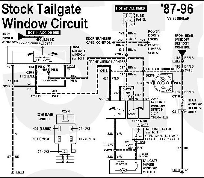 Tailgate Window Slow Rewire Questions