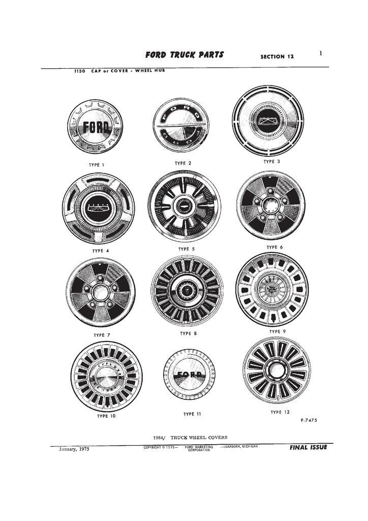 Here is a photo of different wheel styles I found: