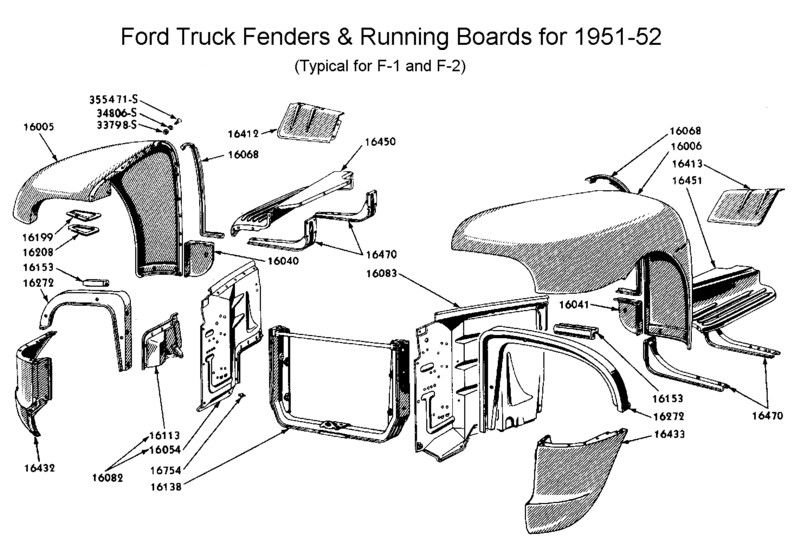 1952 F1 Rear Splash Gurad Ford Truck Enthusiasts Forums