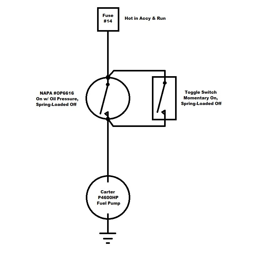 Electric Fuel Pump Installation Ford Truck Enthusiasts Forumsrhfordtrucks: Carter Fuel Pump Wiring Diagram At Gmaili.net