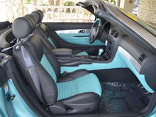 Two tone premium interior