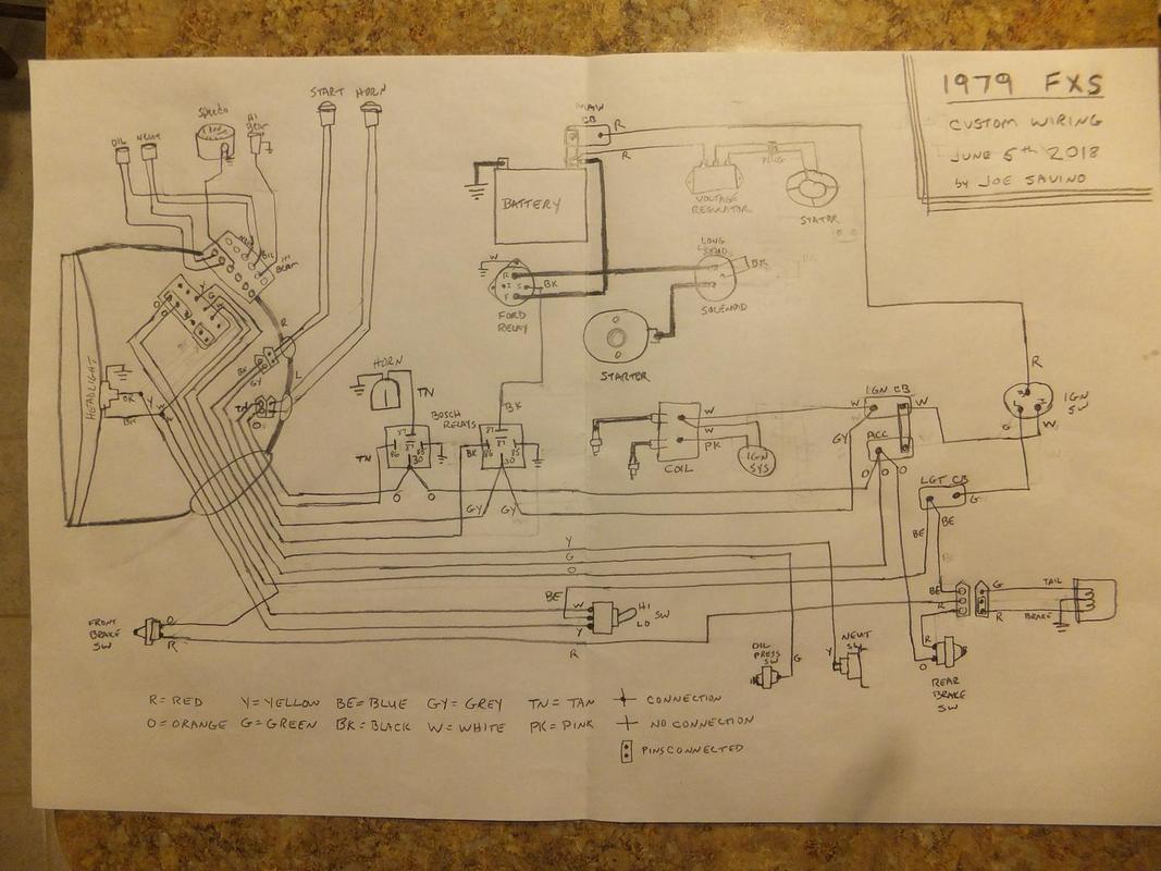 Starter Wiring Diagram Further Custom Motorcycle Wiring Diagrams