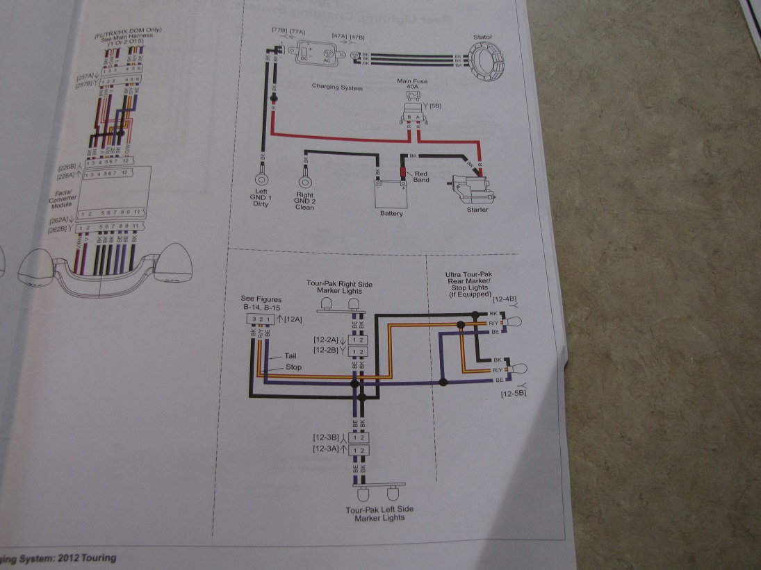 Wiring Diagram 2013 Road King Harley Davidson Forums Tri Glide Here Are The 2012 Schematics Good Luck Thats An Ambitious Project