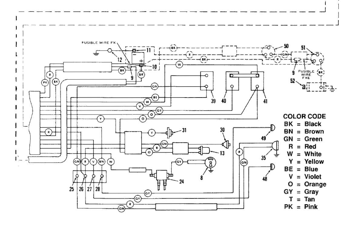 fx wiring diagram tach 1975 fxe voltage regulator replacement page 2 harley davidson  1975 fxe voltage regulator replacement