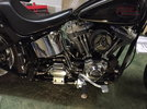 Mid Controls on Softail