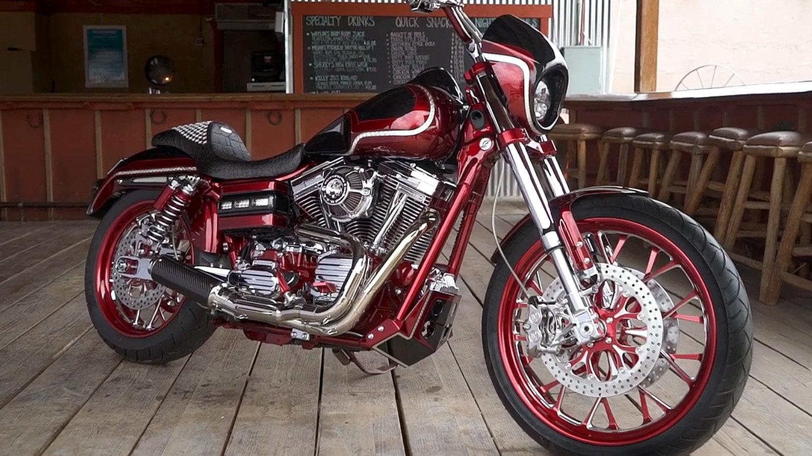Custom Harley Davidson Dyna Fxdl Build: 2017 Harley-Davidson Dyna Low Rider S Custom Build