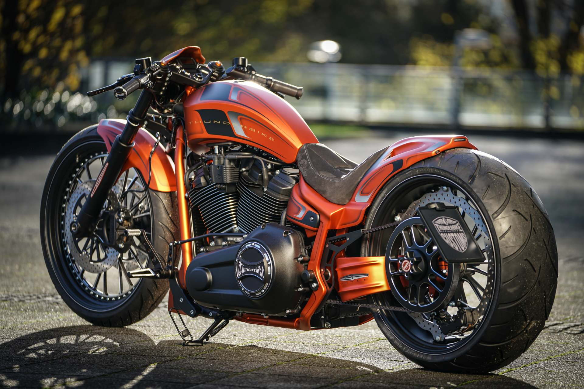 Harley Night Train >> Thunderbike Breakout '18 - Harley Davidson Forums