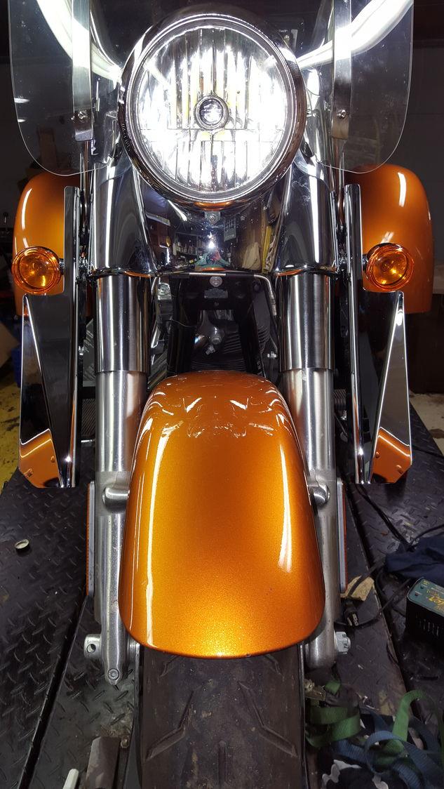 Jes Custom Accents Wind Deflectors Harley Davidson Forums