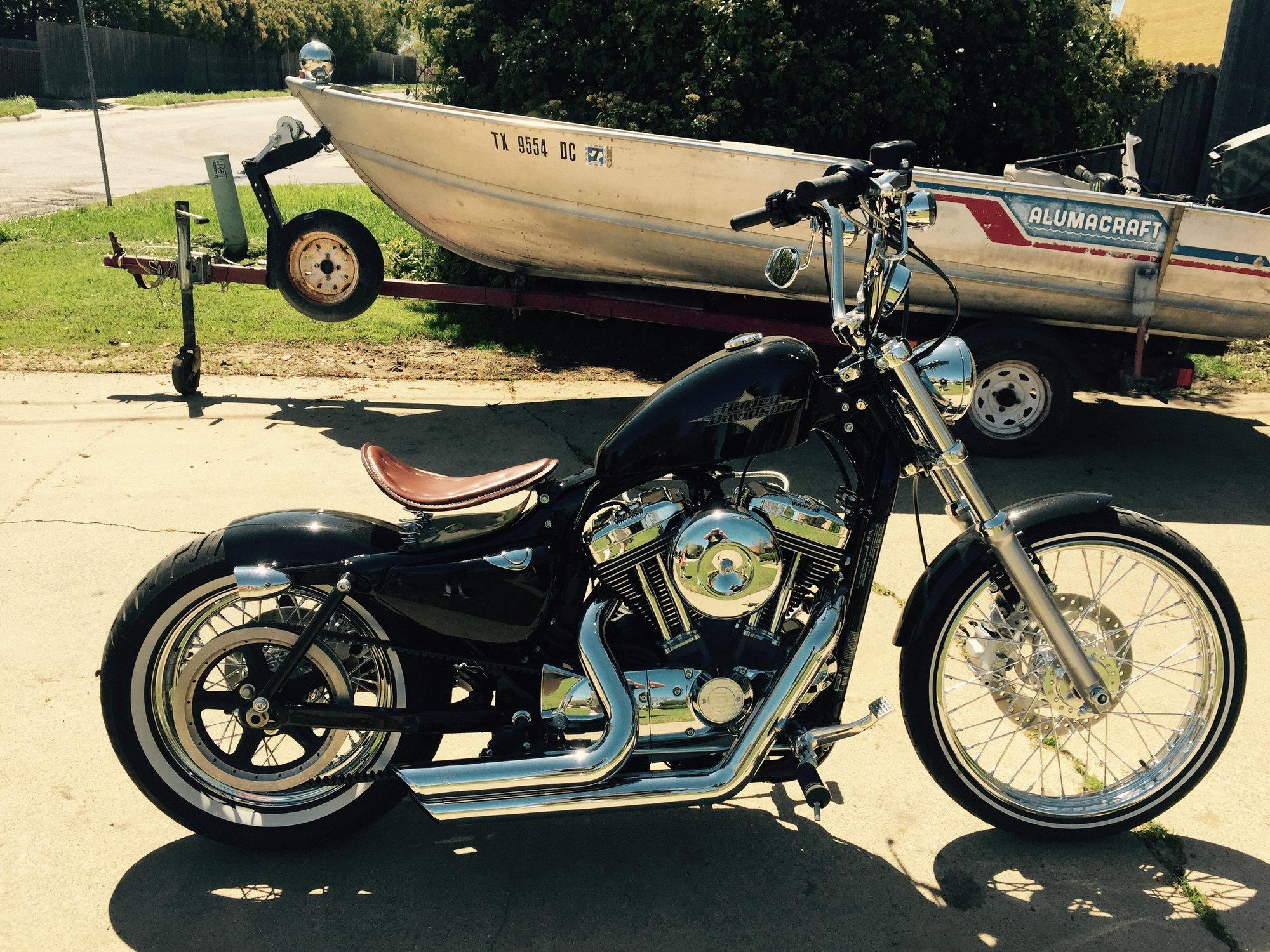 72 Bobber Harley Davidson Forums