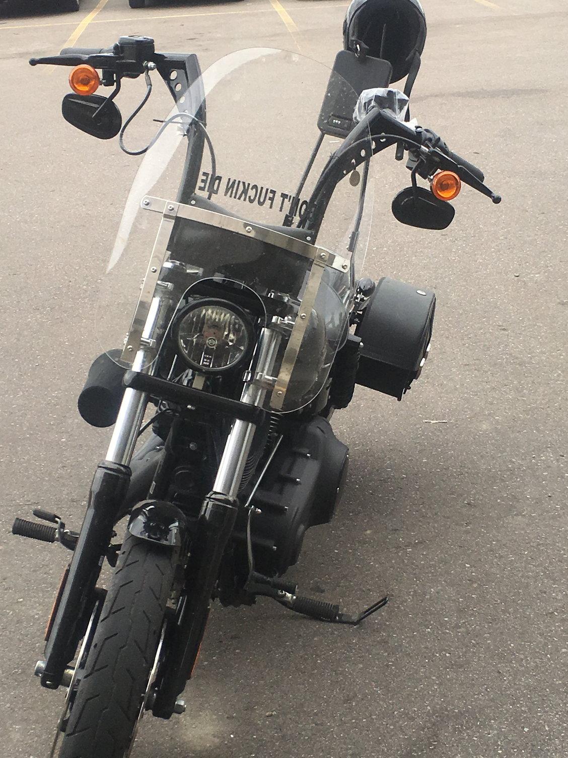 Ape hanger wobble - Harley Davidson Forums
