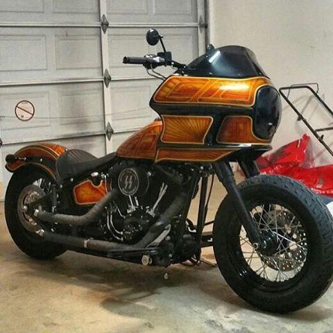 Harley Davidson Dyna For Sale San Diego >> Dyna/FXR style Fairing for Softail - Harley Davidson Forums