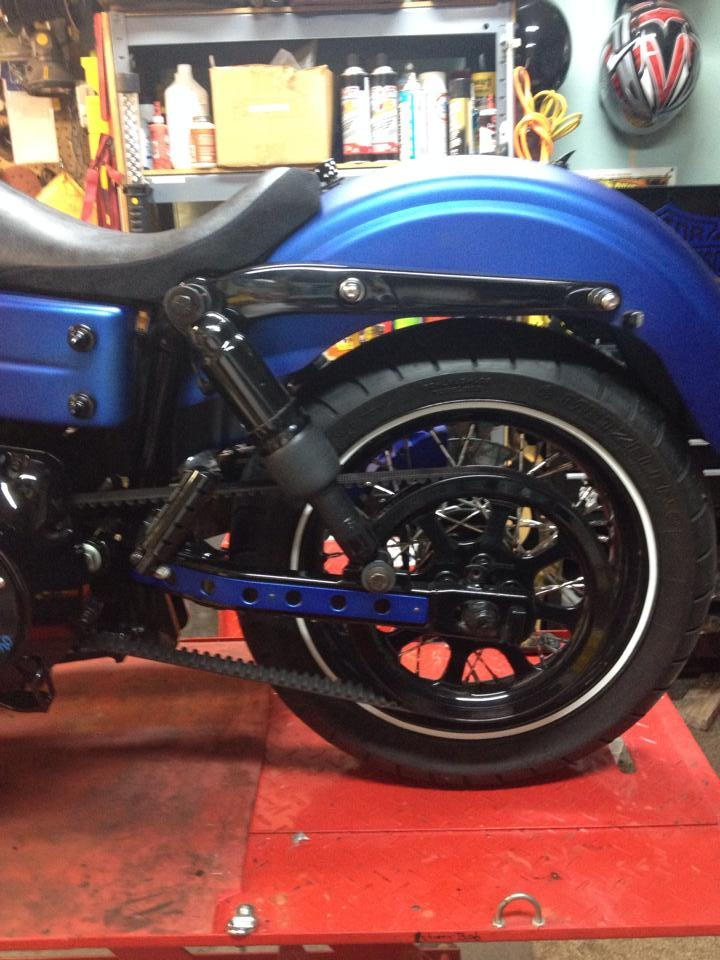Air Suspension On Dyna Page 4 Harley Davidson Forums