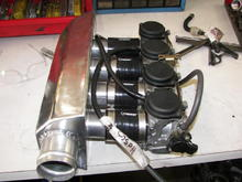 my blow through plenum for my gsx carb setup