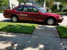 My 93 Honda Accord LX. 266,000 miles.