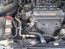Siezed engine before