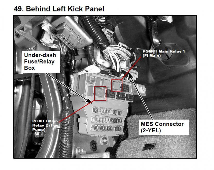 Engine Control Module  Ecm  Power Relay 2004 V6 Accord - Honda Accord Forum