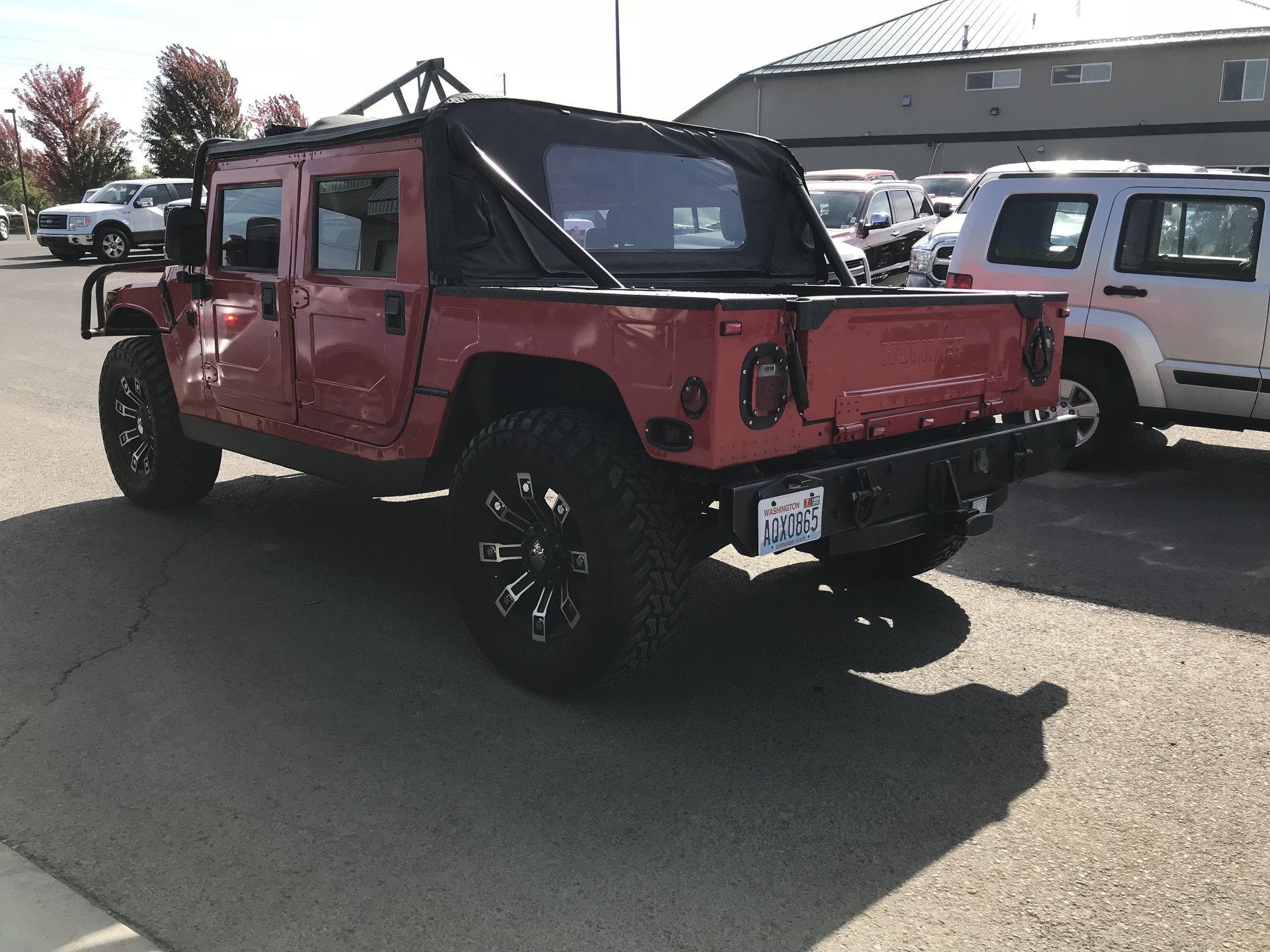 for sale\u20141997 hummer h1 truck 38000 miles hummer forums