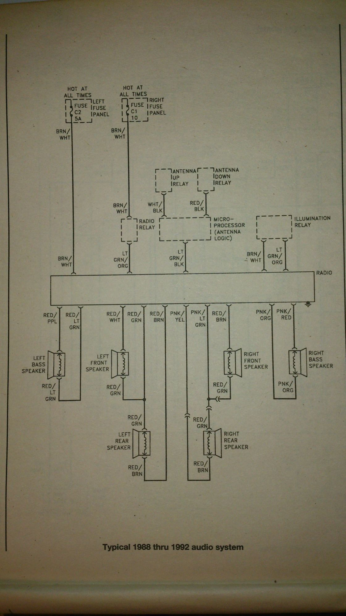 Stereo Wiring Help Jaguar Forums Enthusiasts Forum Radio I Cant Seem To Figure Out Just Copy A Couple Of Pages From The Manual Pdf File But Here Is Whole And Diagram On 10 11