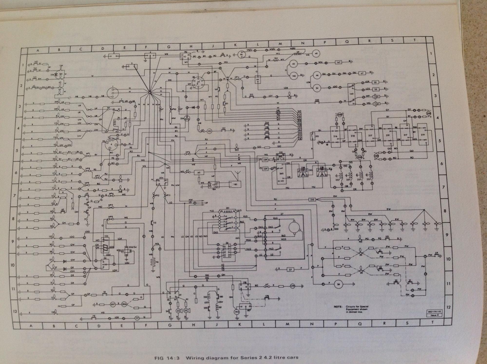 U0026 39 74 Series 2  Instrument Wiring - Jaguar Forums