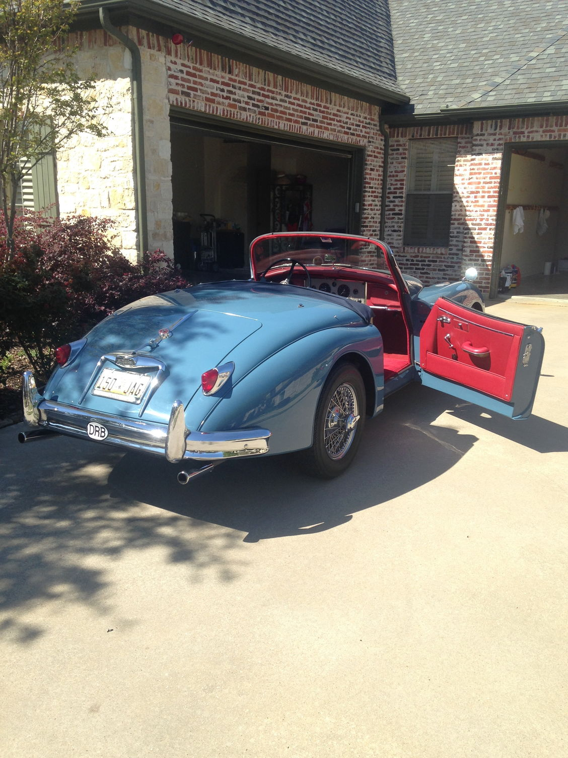 Entering My First Concourse W   Xk150s